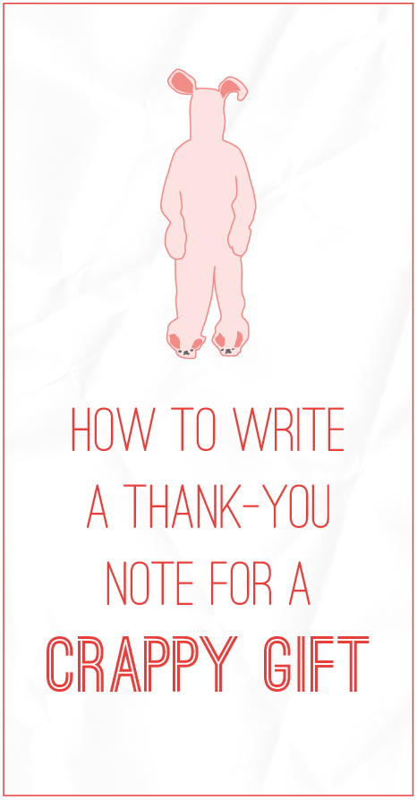 How To Write A Thank You Note For Cry Gift